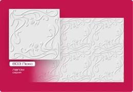 Плитка потолочная прессованная Лагом 803, 50x50cм, белый, упаковка 8шт. (2м2)