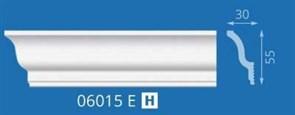 Плинтус потолочный экструзионный Лагом Формат 07016Е, 65x26ммx2м, полистирол, белый