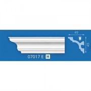 Плинтус потолочный экструзионный Лагом Формат 07017Е, 49x49ммx2м, полистирол, белый