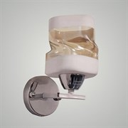 Светильник настенный/бра 7464/1A, диаметр 160мм, высота 180мм, 1х40W, E27, CR+WT хром/белый