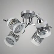 Люстра подвесная 2-рожковая 74332/4, 460x275мм, 4x40W, E27, СR хром, GAN20