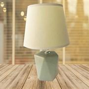 Лампа настольная DS-TL8802, высота 290мм, 1х60W, E27, серый/серый абажур
