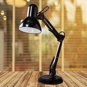Светильник настольный MRC-811, 60W, E27, на подставке, черный