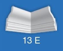Угловой элемент Лагом Формат 13Е для потолочного плинтуса 06013E , внутренний, экструзионный, белый