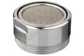 Насадка на кран (аэратор) Terma 20529 металлический, с наружной резьбой 28мм, с нержавеющей сеткой