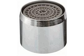 Насадка на кран (аэратор) Terma 20721 металлический, с внутренней резьбой 22мм, с пластиковой сеткой