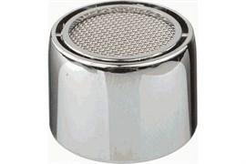 Насадка на кран (аэратор) Terma 20521 пластиковый, с внутренней резьбой 22мм, с нержавеющей сеткой