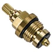 Кран-букса (вентильная головка) для смесителя Haiba HB52-2 керамическая, 1/2дюйма, 15 шлицов, угол поворота 90 градусов