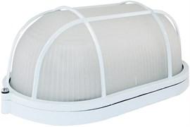 Светильник TDM НПБ1402 SQ0303-0036, овал с решеткой, белый