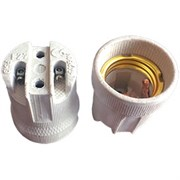 Патрон Ecola base, Е27, керамический, AB7SCWEAY белый