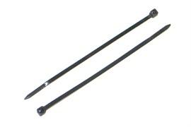 Хомут-стяжка 4x250мм, нейлоновая, черный