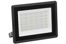 Прожектор светодиодный IEK СДО-06-50, 50Вт, 4000К, IP65, черный