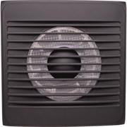Вентилятор вытяжной EVENT 100С, карбон, накладной, без выключателя, 13Вт, 220В
