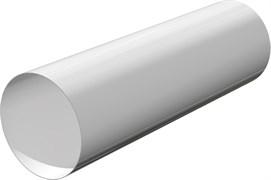 Воздуховод круглый ЭРА 10ВП2, диаметр 100мм, длина 2м, ПВХ, белый