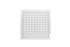 Решетка вентиляционная EVENT МД2727Р, регулируемая, 270х270мм, пластиковая, белая
