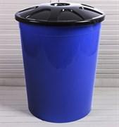 Бак универсальный М4670, 225л, с крышкой, синий, пластиковый