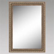 Зеркало настенное sa 6026-46, 50x70см, в раме, бронза